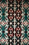 Kalimantan traditional pattern Stock Photos