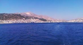 Kalimnos海岛 库存图片