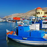 Kalimnos island Greece Stock Image