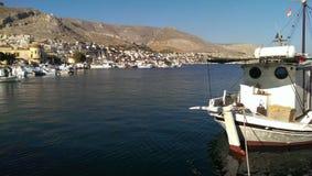 Kalimnoseiland in Griekenland Stock Foto's