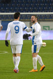 Kalinic and Kankava after the game Royalty Free Stock Photo