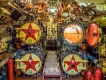 Kaliningrad, Ρωσία - τον Ιανουάριο του 2018 Άποψη του δωματίου τορπιλών στο υποβρύχιο μουσείο στοκ εικόνα με δικαίωμα ελεύθερης χρήσης