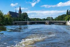 Kaliningrad royaltyfri fotografi