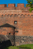 Kaliningrad amber Museum. The museum is located in a historic building (defensive tower Don), restored after the war, and is part of the former inner rampart Royalty Free Stock Photo