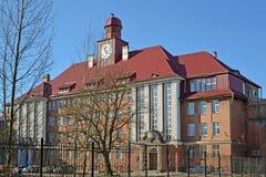 Kaliningrad.  The case No. 5 BFU of I. Kant Royalty Free Stock Image