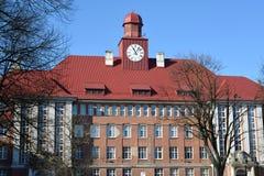 Kaliningrad.  The case No. 5 BFU of I. Kant Stock Photos