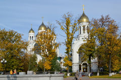 Kaliningrad. Cathedral of Christ the Saviour and Saint Pyotr and Royalty Free Stock Photo