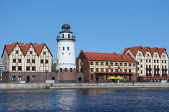 Kaliningrad day Stock Photography