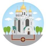 Kaliningrad domkyrkachrist frälsare Royaltyfria Foton