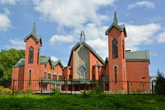 Kaliningrad. Evangelic and Lutheran church Jesus Christ's Revivals Royalty Free Stock Photos
