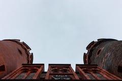Kaliningrad, Fédération de Russie - 4 janvier 2018 : Le musée de porte de Friedrichsburg image stock