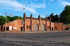 Kaliningrad. Friedland Gate Royalty Free Stock Images