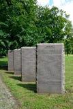 Kaliningrad. International memorial cemetery of victims of World Stock Image