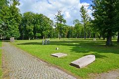 Kaliningrad. International memorial cemetery of victims of World Stock Images