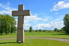 Kaliningrad. International memorial cemetery of victims of World Stock Photo