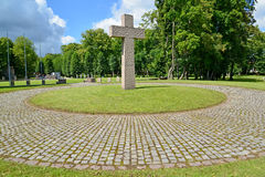 Kaliningrad. International memorial cemetery of victims of World Royalty Free Stock Photos