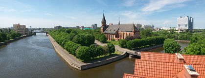 Kaliningrad. Kants Island Royalty Free Stock Photo