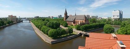 Kaliningrad. Kants Island royalty free stock photo