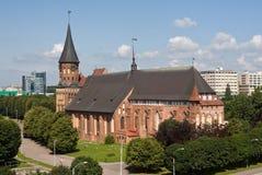 Kaliningrad. Koenigsberg. Cattedrale Fotografia Stock
