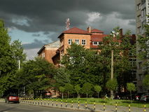 Kaliningrad Musikcollege Lizenzfreie Stockfotos
