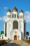 Kaliningrad, Orthodoxe Kathedraal Royalty-vrije Stock Afbeeldingen