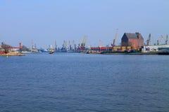 Kaliningrad port Royalty Free Stock Images