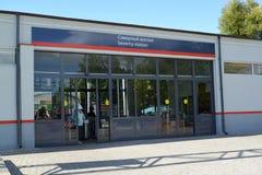 Kaliningrad. Railway Northern station in summer Stock Images