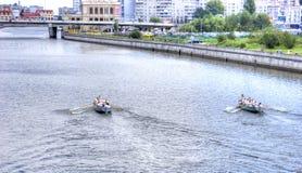 Kaliningrad. Regatta Stock Images