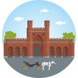 Kaliningrad. Rossgarten gate Stock Image