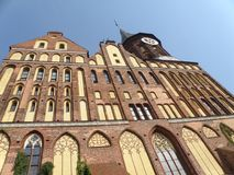 Kaliningrad in Rusland Royalty-vrije Stock Foto