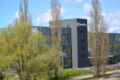 KALININGRAD, RUSSIA. BFU scientific and technological park of I. Kant Factory. KALININGRAD, RUSSIA - APRIL 20, 2016: BFU scientific and technological park of I Stock Photo