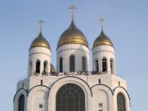 Kaliningrad, Russia.  Cathedral of Christ the Saviour. Russian t Stock Image