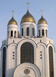 Kaliningrad, Russia.  Cathedral of Christ the Saviour. Russian t Stock Photo