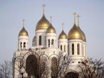 Kaliningrad, Russia Cattedrale di Cristo il salvatore e la chiesa fotografia stock