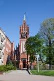 Kaliningrad. Kirch of the Holy Family royalty free stock image