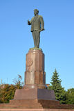 Kaliningrad, Russia. Monument to M.I.Kalinin (1875-1946) in summer Royalty Free Stock Photos