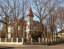 Kaliningrad, Russia. Old mansion on Kutuzov Street Royalty Free Stock Photo