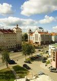 Kaliningrad-Straße lizenzfreie stockbilder
