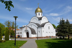 Kaliningrad.  Temple of the Saint apostle Andrew the First-Calle Stock Image