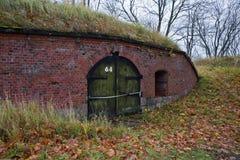 Kaliningrado Fuerte número 11 de los almacenes Foto de archivo