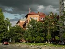 Kaliningrado Universidad de música Fotos de archivo libres de regalías