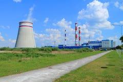 Kaliningradskaya Termiczna elektrownia 2 Obraz Royalty Free