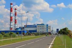 Kaliningradskaya Termiczna elektrownia 2 Zdjęcia Royalty Free