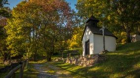 Kaliste, vroeger dorp in het district van Banskà ¡ Bystrica in de Slowaakse Republiek stock afbeelding