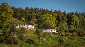 Kaliste, vroeger dorp in het district van Banskà ¡ Bystrica in de Slowaakse Republiek royalty-vrije stock afbeelding