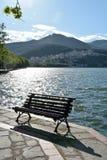 Kalithea, a district of Kastoria, Greece Stock Image