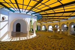 Kalithea spa center building in Rhodes. Greece. Kalithea spa center building in Rhodes royalty free stock image