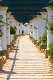 Kalithea, spa center building in Rhodes. Greece. Kalithea spa center building in Rhodes. Greece stock image