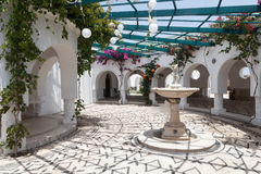 Kalithea Springs in Rhodes Stock Images