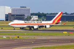 Kalitta Air Boeing 747 Imagem de Stock Royalty Free